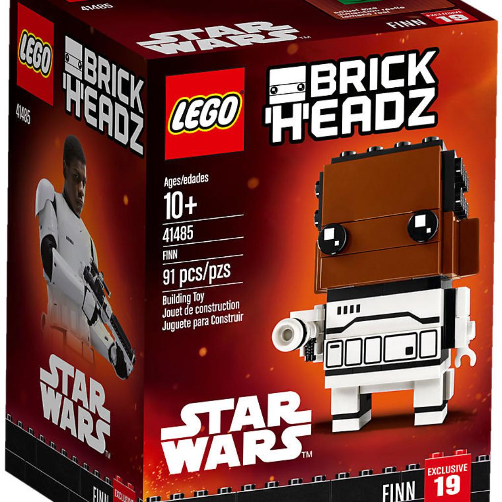 Boîte de Lego BrickHeadz – Finn (référence 41485)