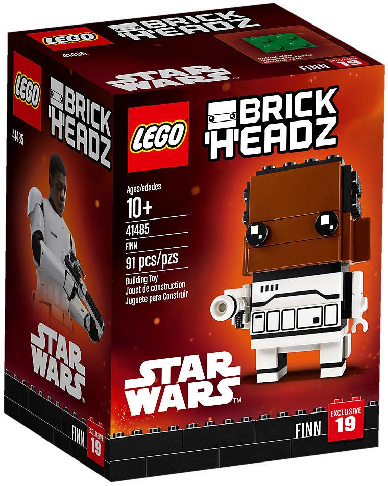 Boîte de Lego BrickHeadz - Finn (référence 41485)
