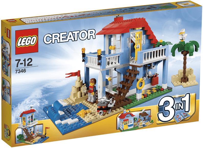 Boîte de Lego Creator - La maison de la plage (référence 7346)