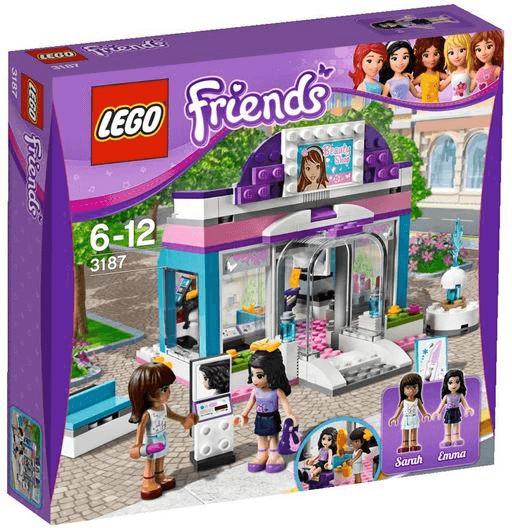 Boîte de Lego Friends – Le salon de beauté (référence 3187)