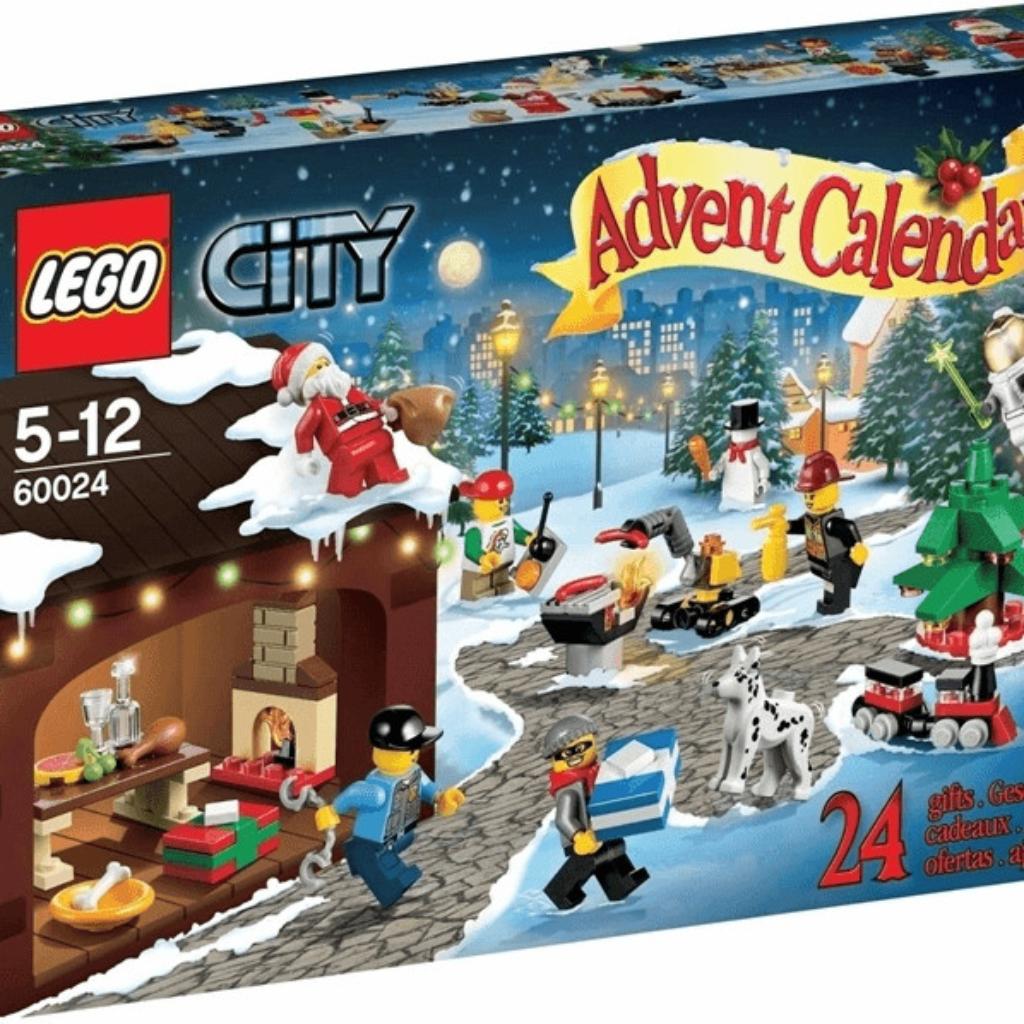 Boîte de Lego Le calendrier de l'Avent Boîte de Lego City 2013 (référence 60024)