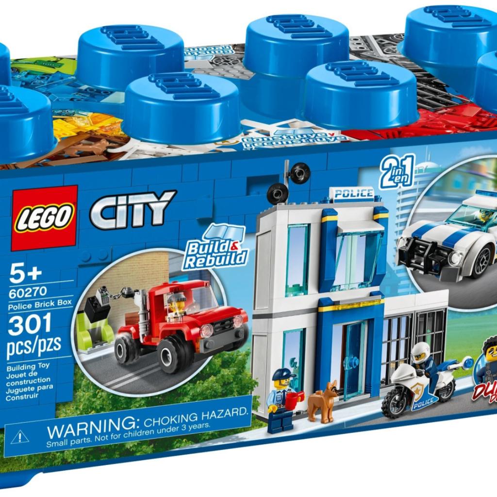 Boîte de Lego City – La boîte de briques – Thème Police (référence 60270)