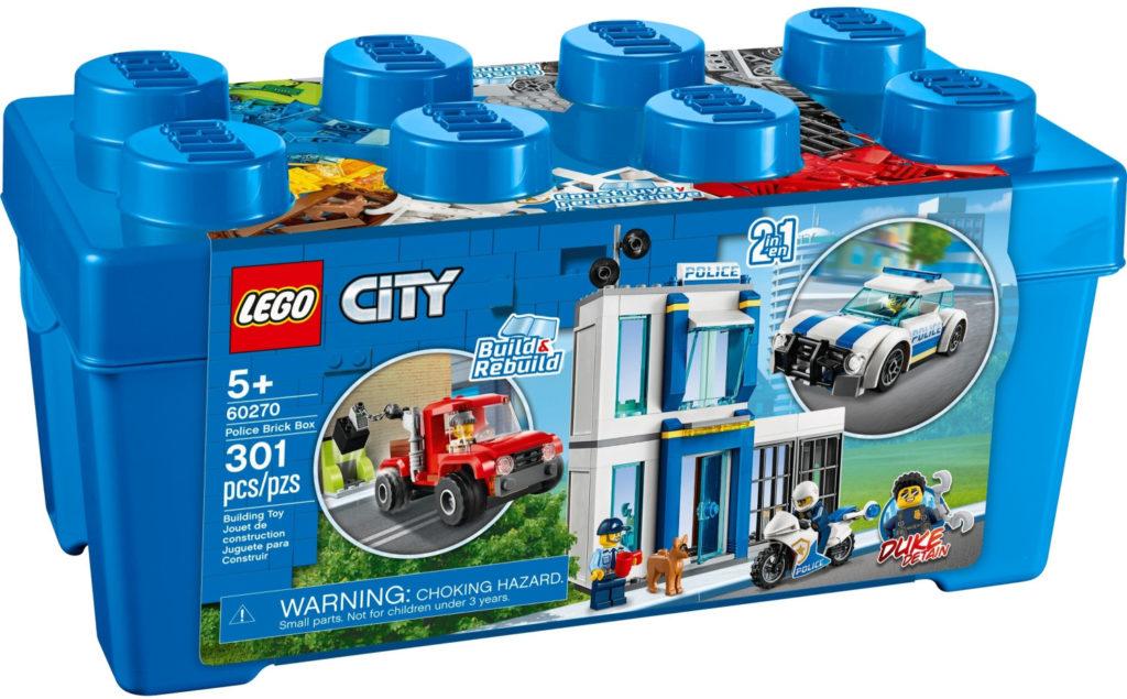 Boîte de Lego City - La boîte de briques - Thème Police (référence 60270)