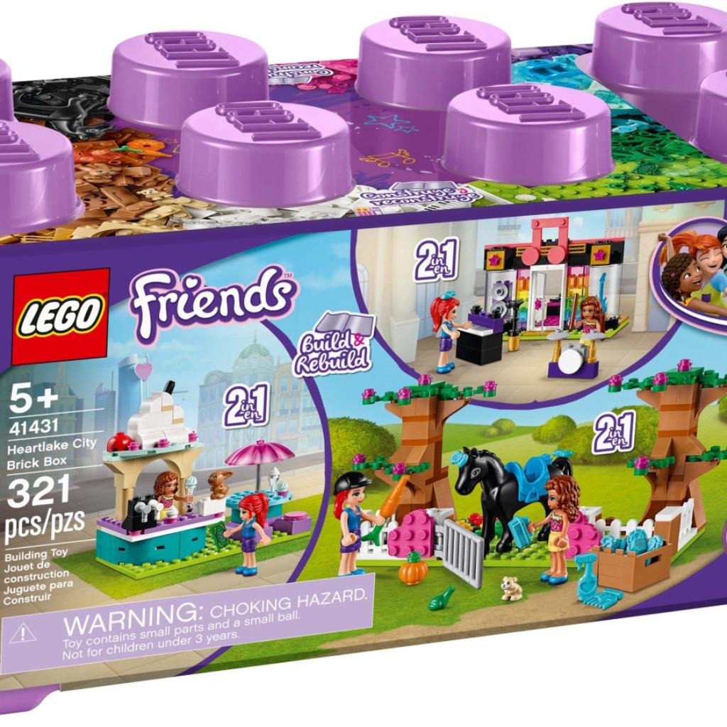 Boîte de Lego Friends – La boîte de briques de Heartlake City (référence 41431)