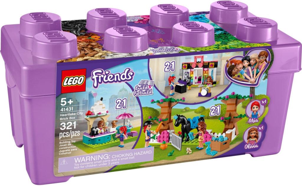 Boîte de Lego Friends - La boîte de briques de Heartlake City (référence 41431)