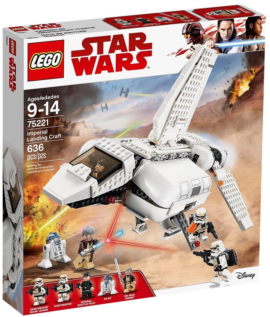 Boîte de Lego Star Wars - Imperial Landing Craft (référence 75221)