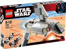 Boîte de Lego Star Wars - Imperial Landing Craft (référence 7659)