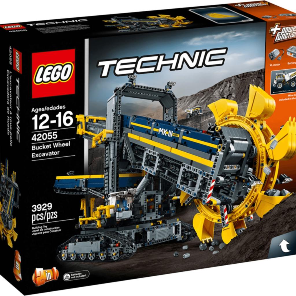 Boîte de Lego Technic – La pelleteuse à godets (référence 42055)