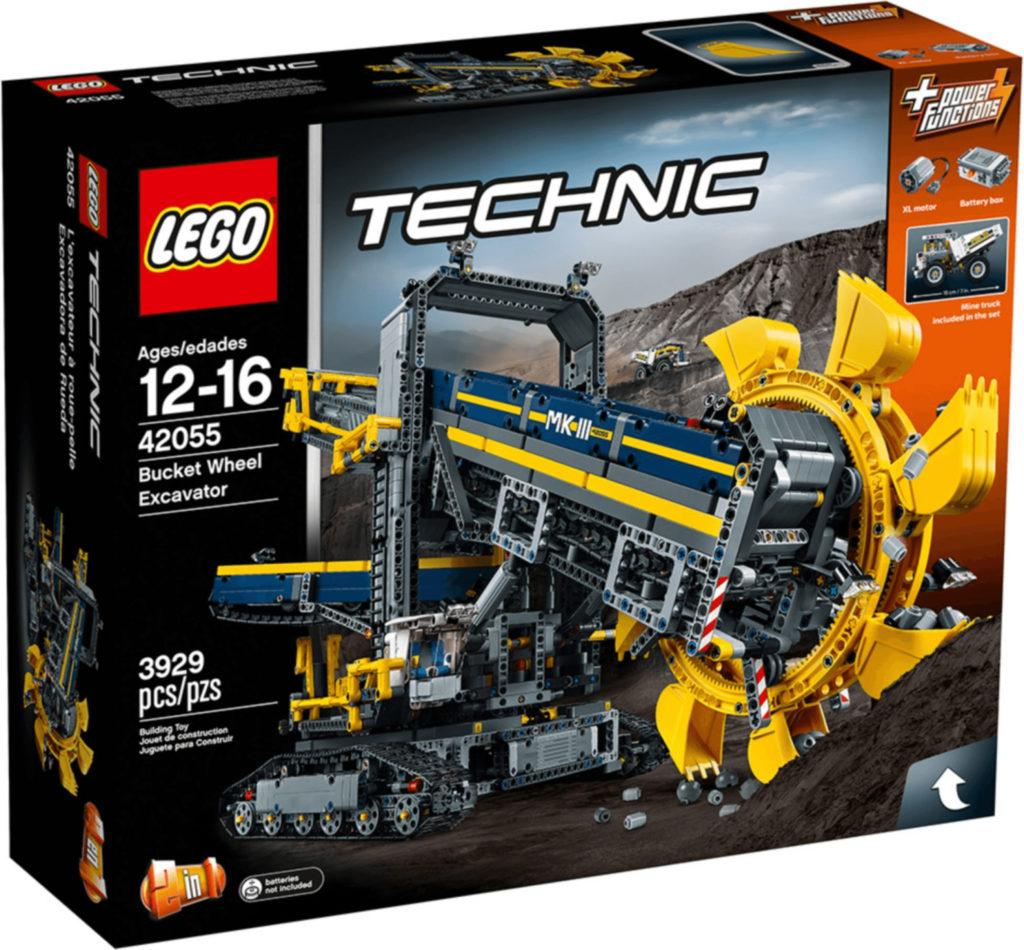 Boîte de Lego Technic - La pelleteuse à godets (référence 42055)
