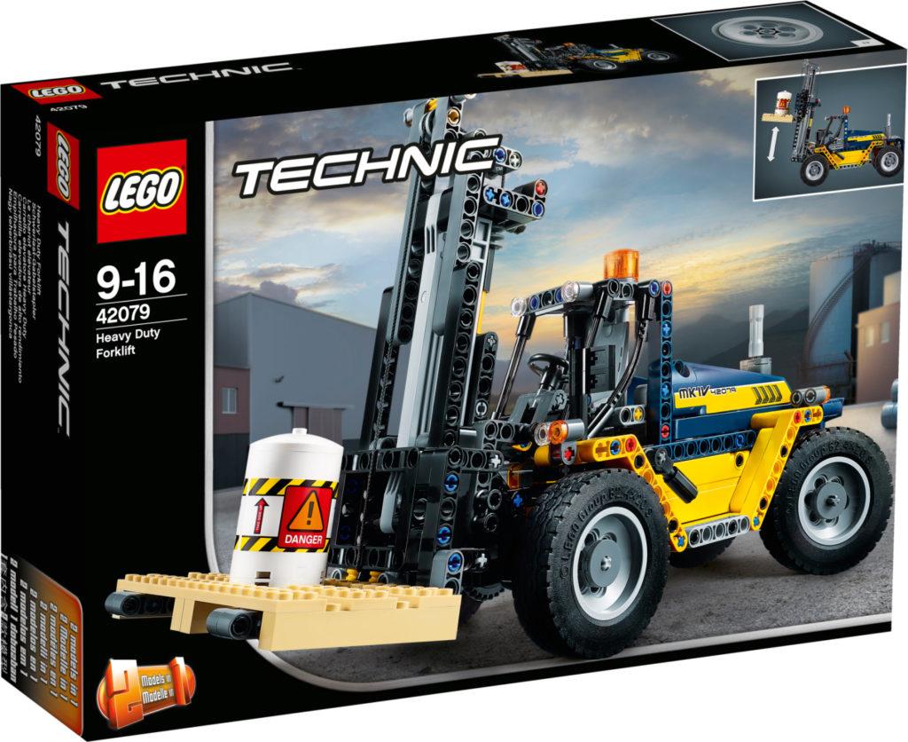 Boîte de Lego Technic - Le chariot élévateur (référence 42079)