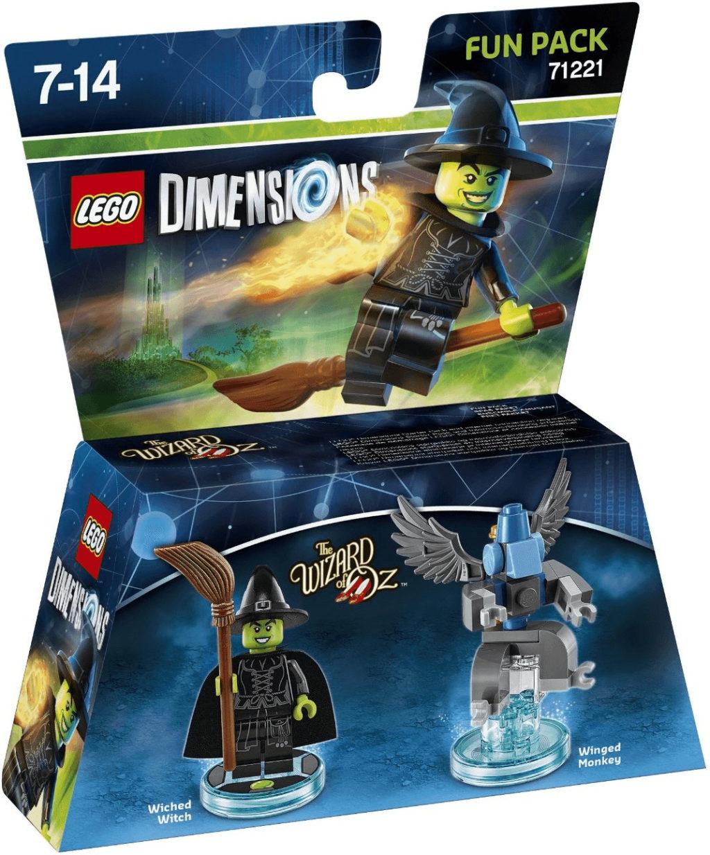 Boîte de Lego Dimensions: pack héros - Magicien d'Oz